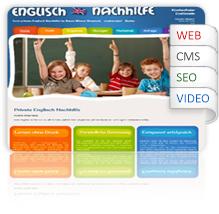 Webdesign-private-Englisch-Nachhilfe