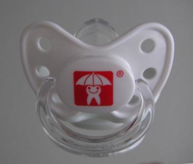 Beruhigungssauger mit Zahnmännchen-Auszeichnung