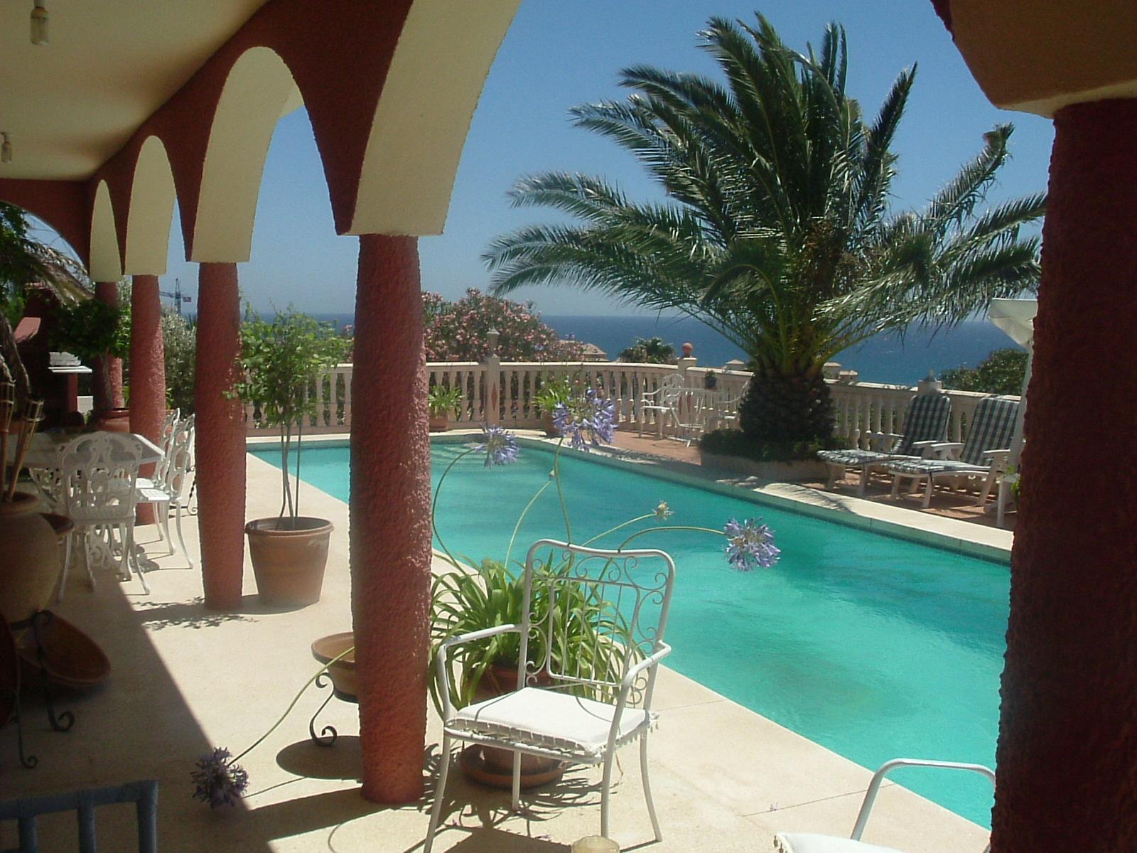 DF018   Villa Fuengirola with sea view