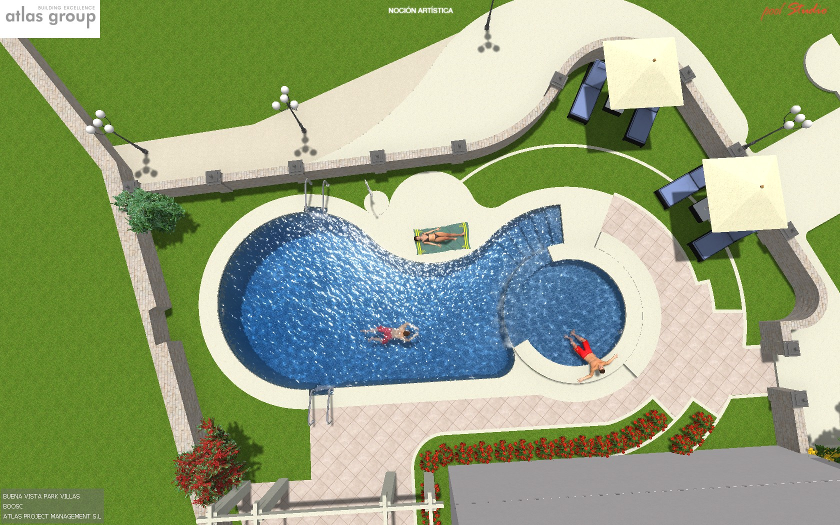 Swimming pool design marbella