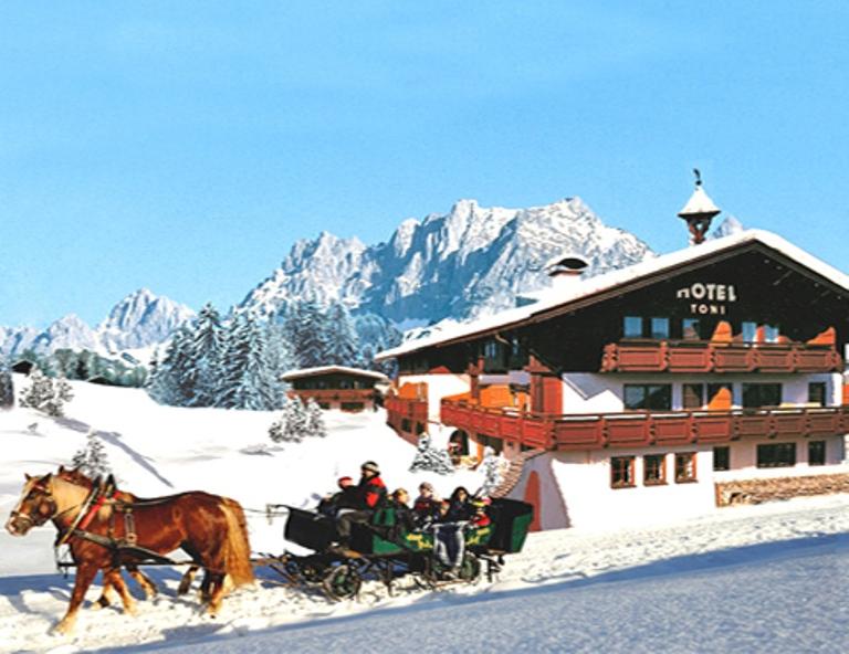 Garten Hotel Toni in Sankt Johann in Tirol