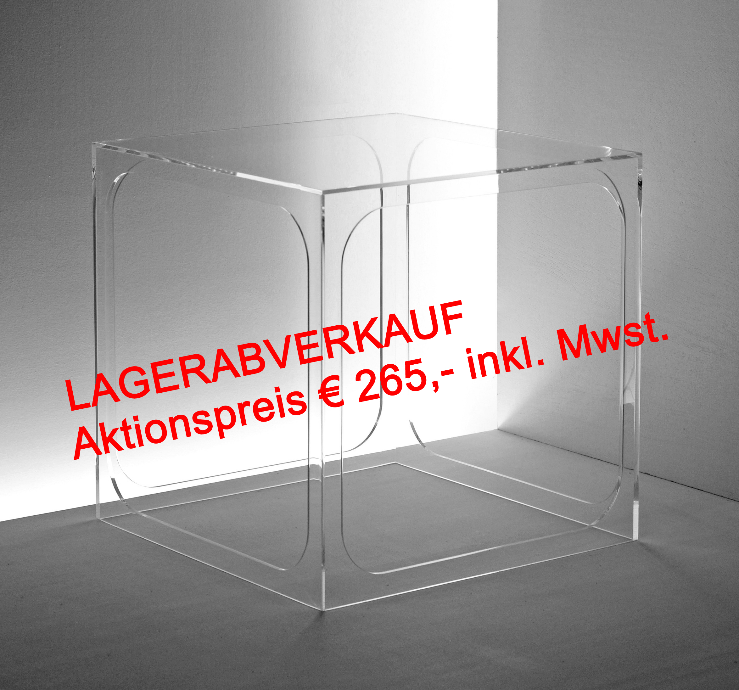 Acrylmöbel, Plexiglasmöbel