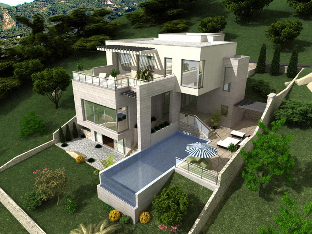 New villa in rural area