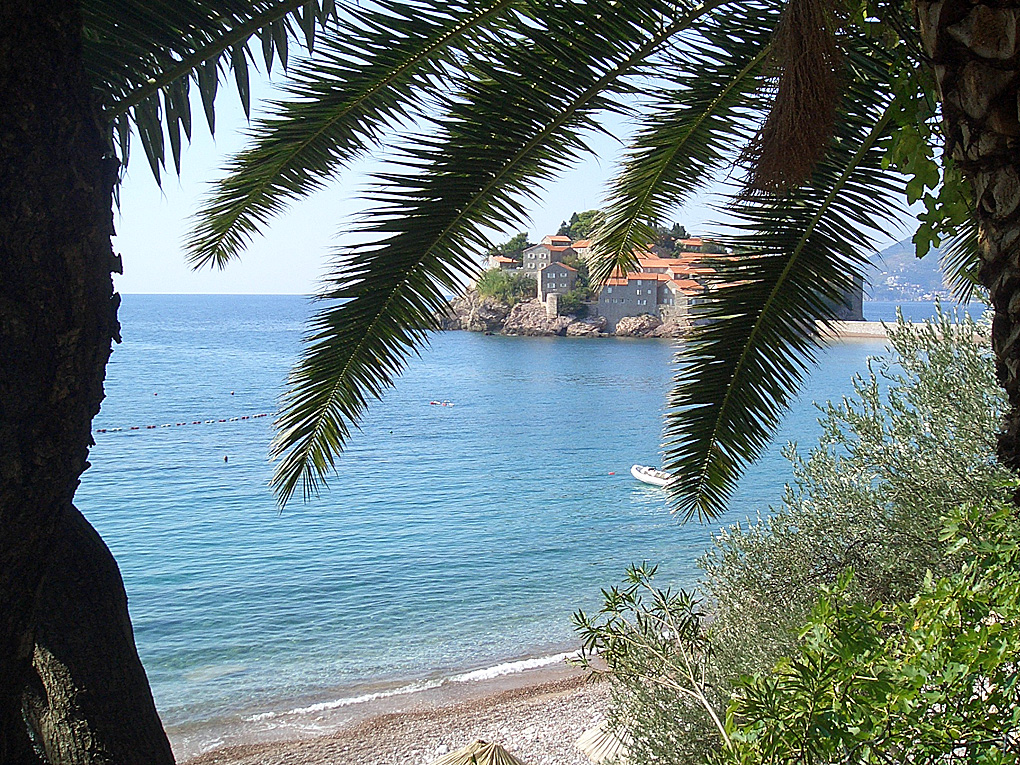 Villa at the beach Sveti Stefan