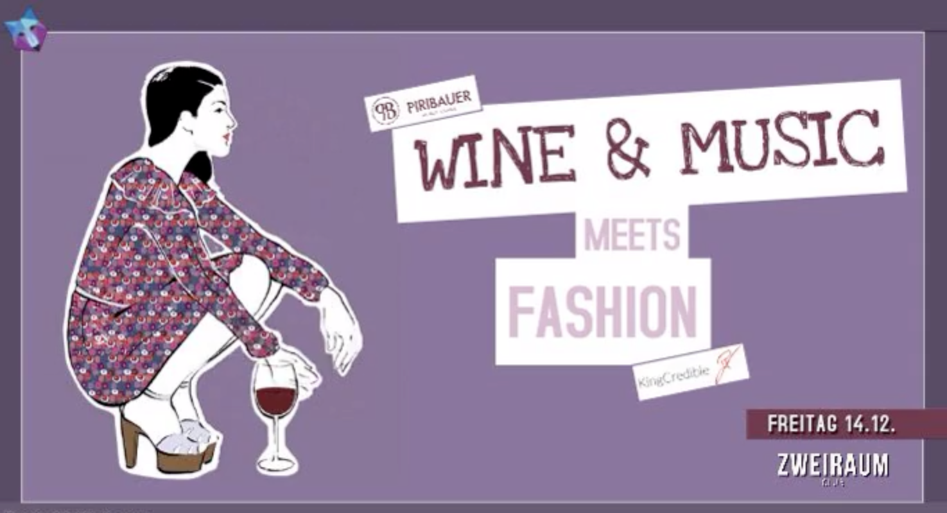 WINE & MUSIC MEETS FASHION