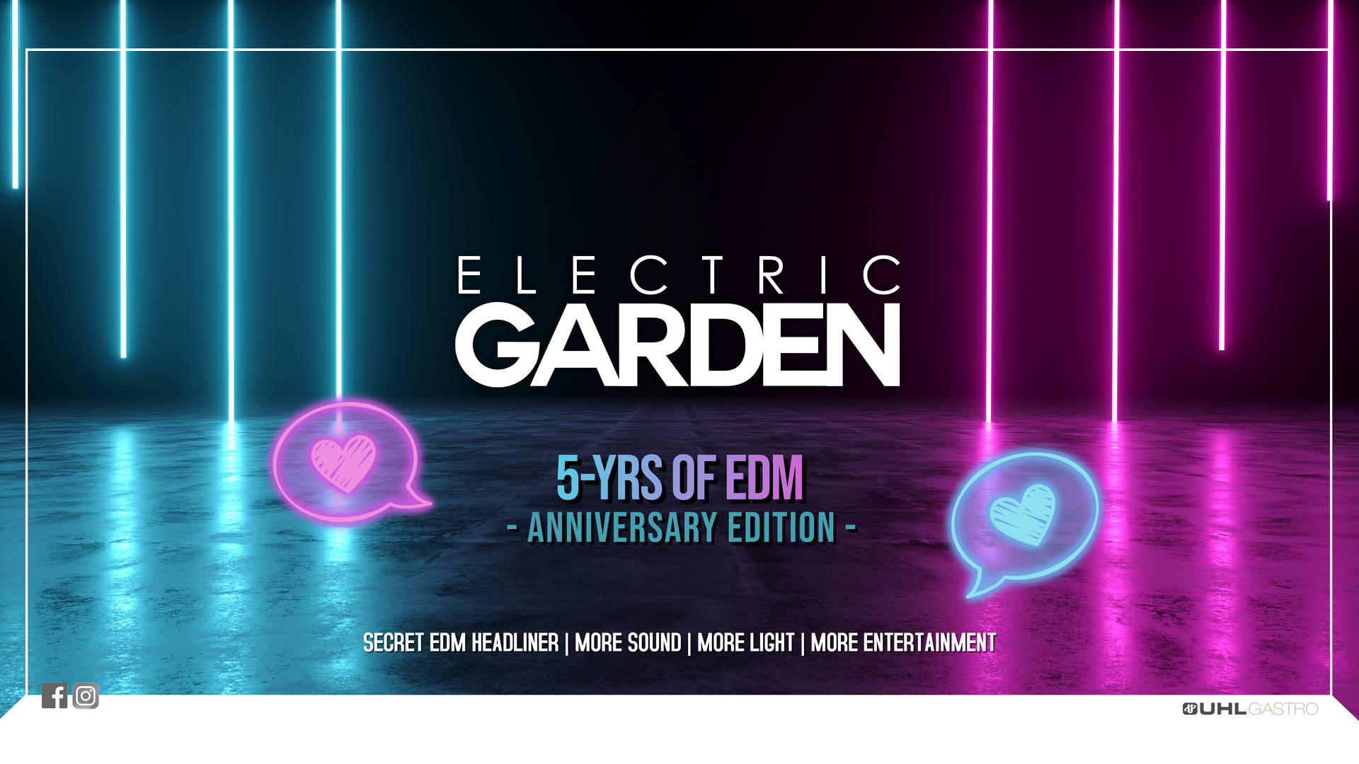 5 YRS OF ELECTRIC GARDEN