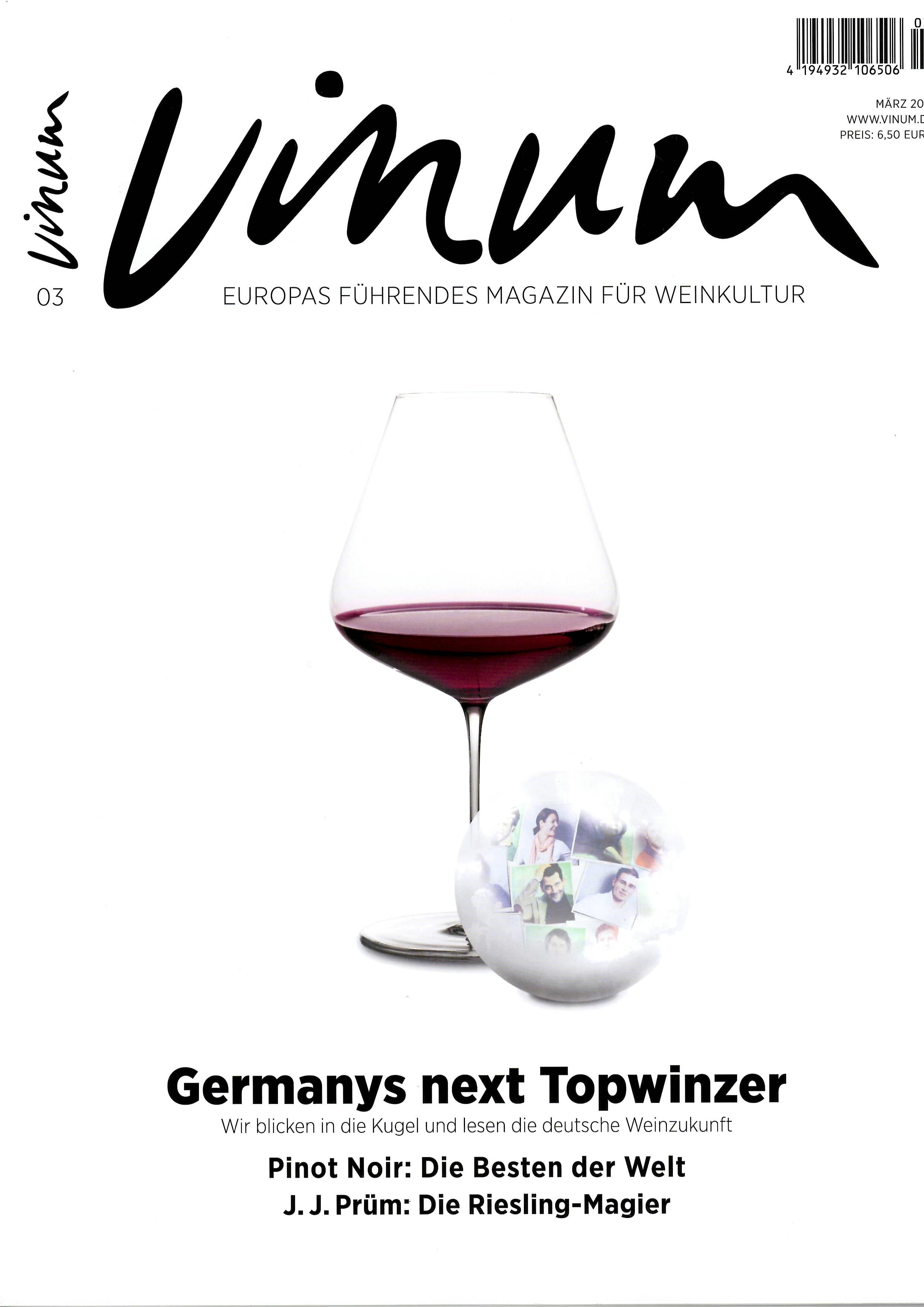 Vinum Pinot Noir: Die besten der Welt