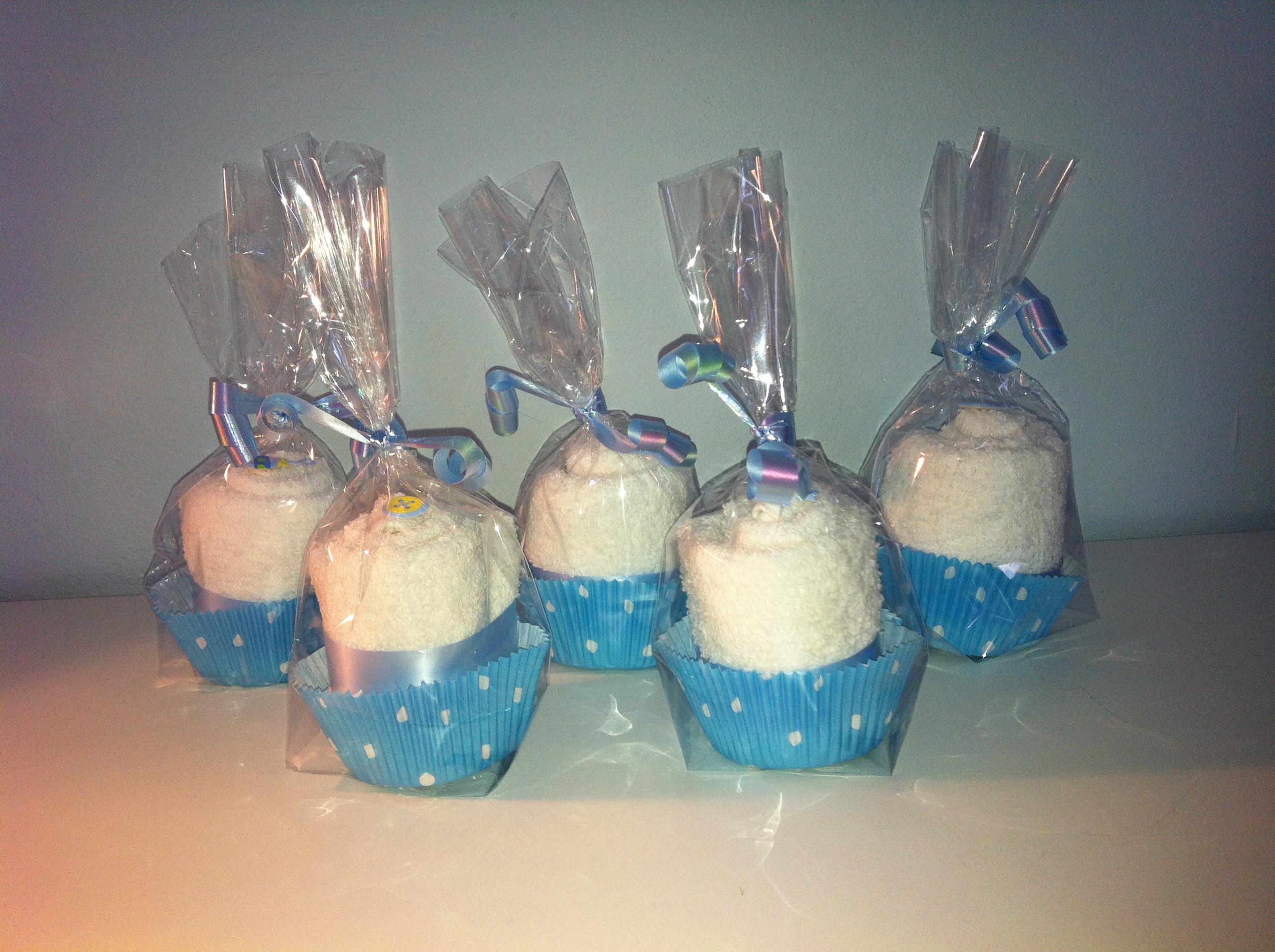 Muffins aus Waschlappen