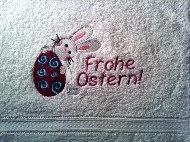 Oster-Gästehandtuch
