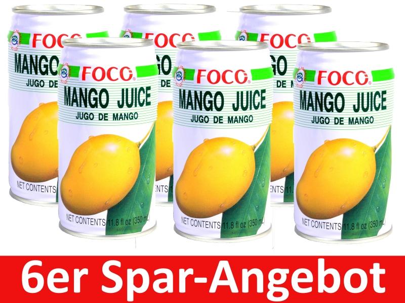 Mango Nektar Foco 6 x 350ml