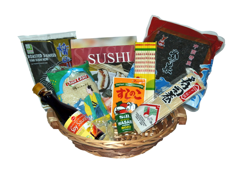 Geschenkset Sushi & Rezepte