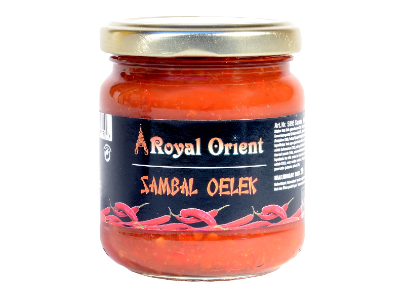Sambal Oelek Chili Paste scharf