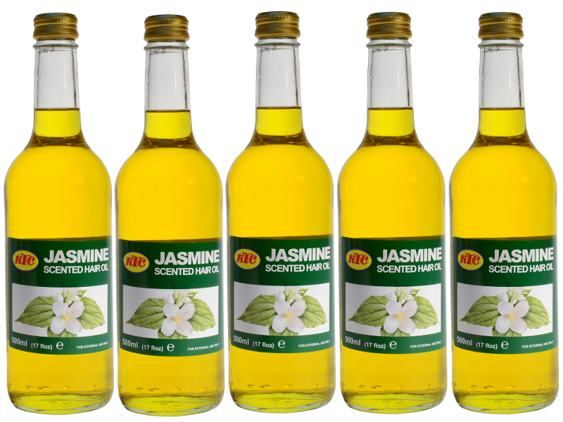 Jasmin Duftöl - Haar Öl 5 x 500ml