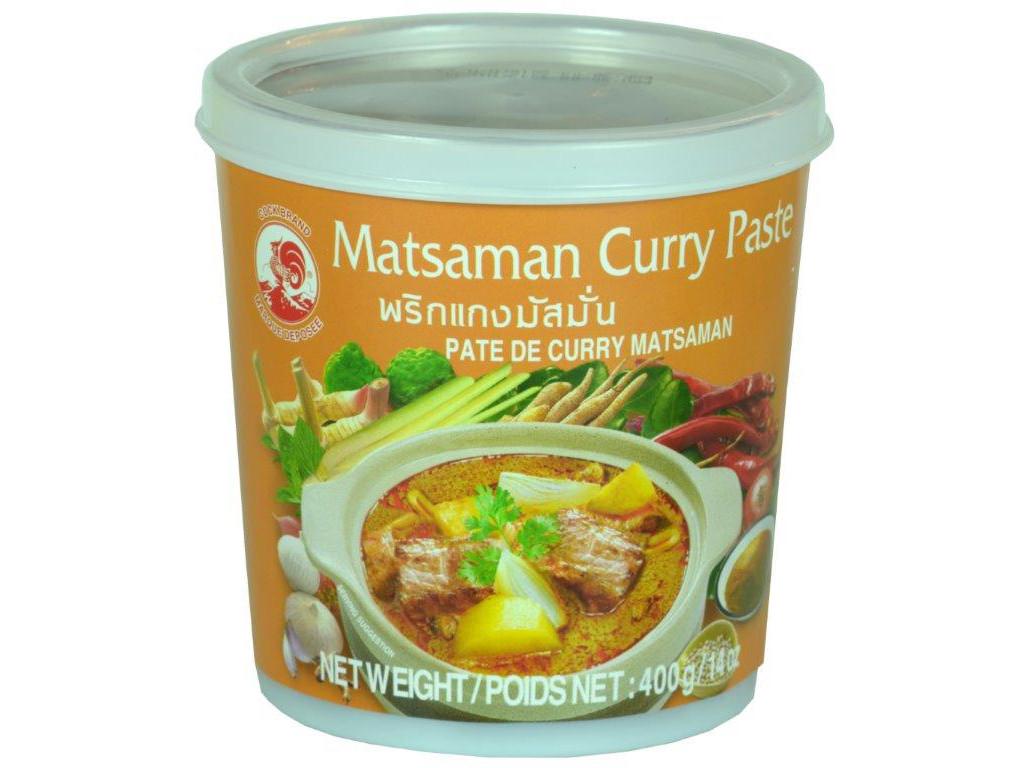 400g Matsaman Currypaste Cock