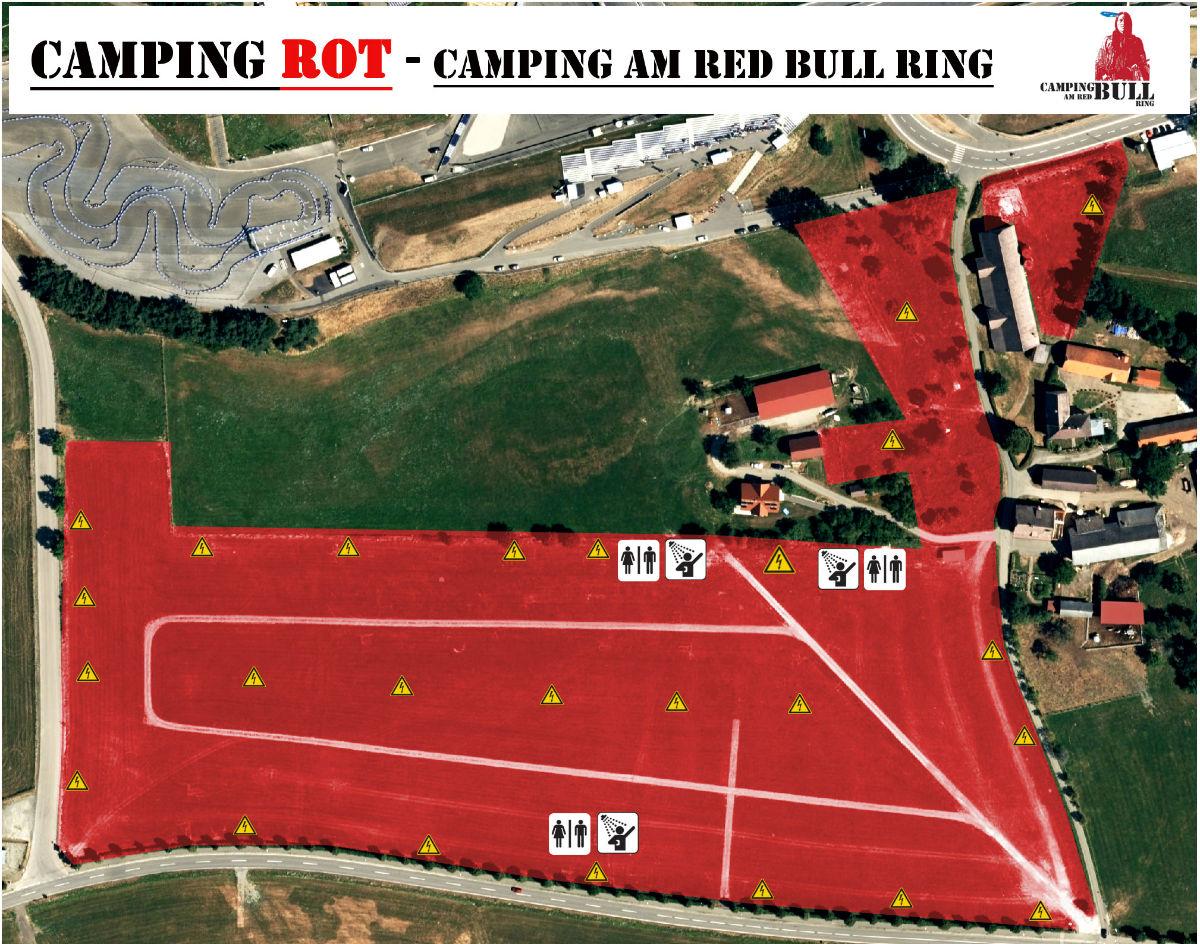 red bull ring camping
