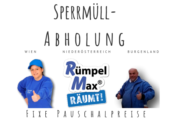 Sperrmüllabholung