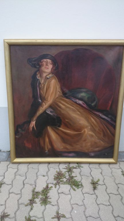 Jugendstil Gemälde
