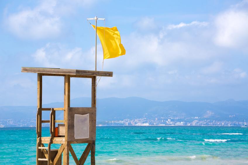 Frühjahrsputz an der Playa de Palma