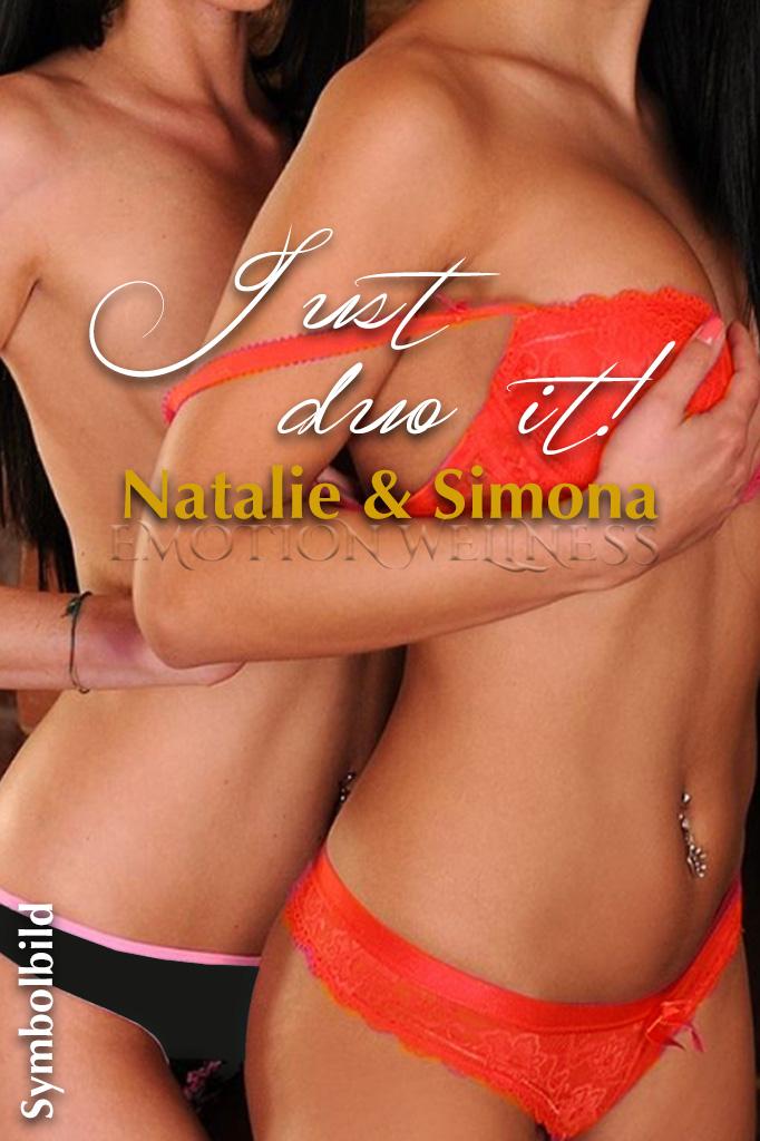 Erotische Massage Duo Natalie & Simona